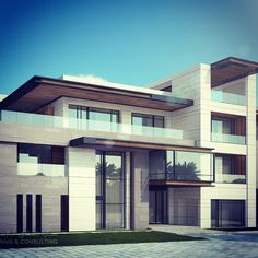 When there is a great client .... There is nothing to do but be creative ..... 3800 m plot ....Al misila kuwait ... Sarah sadeq architects
