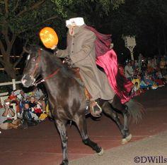 Headless Horseman tips for halloween