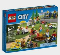 LEGO City Town 60134 Fun in the park - City People Pack Building Set - Amazon http://fave.co/2cTnl6w