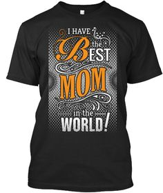 Cool Mom T Shirts Black T-Shirt Front
