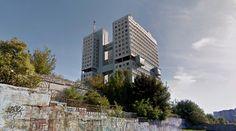 Дом советов (House of Soviets) - 1970-2005 by ЛВ Мисожников (LV Misozhnikov) - #architecture #googlestreetview #googlemaps #googlestreet #russia #kaliningrad #brutalism #modernism