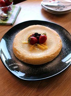 Tarta de queso en microondas