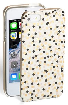 kate spade new york 'confetti' iPhone 5 & 5s case available at #Nordstrom