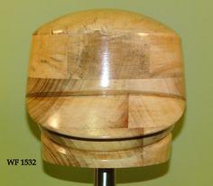 WF 1532 Wooden hat block millinery hut form form a' от borsolino