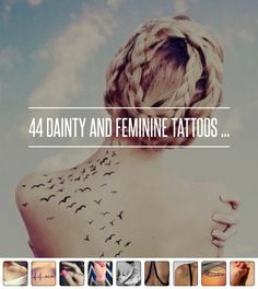 44. Parts of an Arrow - 44 Dainty and Feminine Tattoos ... → Beauty
