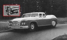 MAZ-541: monstrózní sovětský sedan měl diesel 38,8 V12 z tanku