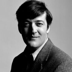 Stephen Fry (The lighting is excellent)
