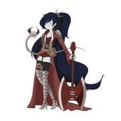 Steampunk Adventure Time - Marceline the Vampire Queen.