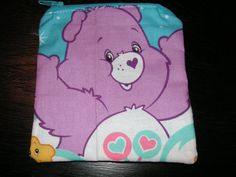 Care Bears Share Bear handmade zipper by alwaysamazingdesigns, $3.99