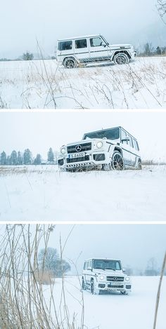 Do you still have snow where you are? The Mercedes-AMG G-Class. Photos taken by Patrick Paparella (www.patrickpaparella.de). [Mercedes-AMG G 63 EDITION 463 | Combined fuel consumption: 13.8 l/100 km | CO2 emission: 322 g/km | http://benz.me/efficiency-statement]