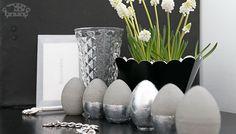 Beton-Eier mit Silber - Tutorial