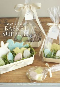 Easter Entertaining & Homemade Easter Treat Packaging | New Products in the Store