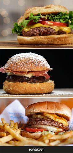Burger Recipes — from classic to crazy (including a Monte Cristo burger)