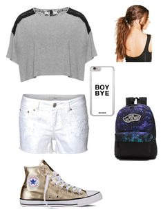 """""""Untitled #43"""" by cherokee-thompson on Polyvore featuring Dex, Manon Baptiste, Converse, Vans and Boohoo"""