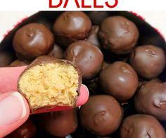 Pindakaas ballen. 5 ingrediënten dus makkelijk