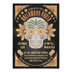 #halloween #party #invitation