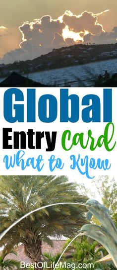 Getting your Global Entry Card makes travel faster and has substantial perks when traveling internationally and on domestic flights.