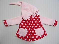 Jacken - Zipfeljacke Wunschgröße 56-158 und Farben - ein Designerstück von Irianna bei DaWanda