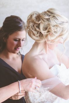 #hairstyle Photography by paperantler.com  Read more - https://www.stylemepretty.com/2013/08/14/minnesota-winter-wedding-from-paper-antler-photography/