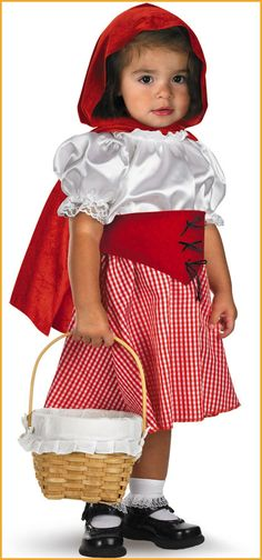 Baby's Red Riding Hood Costumes 12-18 Months HalloweenCostumes4u.com  $16.00