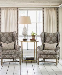 Lacefield designs, window treatments and pillows