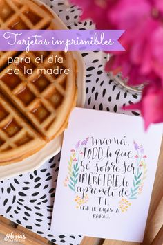 Tarjetas descargables e imprimibles para el día de la madre del blog www.annaspasteleria.com - Free beautiful printable mother's day card!! - Mother's day gift idea - Idea de regalo para el día de las madres!