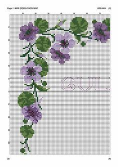 Cross Stitch Flowers, Napkin, Cross Stitch Embroidery, Throw Pillows, Craft, Vestidos, Disney Cross Stitches, Cross Stitch Designs, Baby Crafts