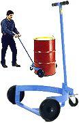 """Morse Model 125 """"No Spill"""" 55-Gallon Drum Truck"""