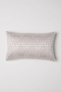 Jacquard-weave Cushion Cover - Beige - Home All King Bedding Sets, Duvet Bedding, Luxury Bedding Sets, Linen Bedding, Bed Linens, Bedding Decor, Bedroom Cushions, Bed Pillows, Cushion Covers