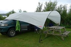 Awning for a day van? Camper complete novice content « Singletrack Forum