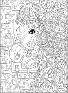 5 Fantasy Horse Coloring Pages Do you love horses? Then these fantasy horse coloring pages are perfect! They're so fun and relaxing. Horse Coloring Pages, Cute Coloring Pages, Coloring Pages For Kids, Coloring Books, Coloring Sheets, Kids Coloring, Coloring Pages To Print, Adult Colouring Pages Free, Coloring Pages Mandala