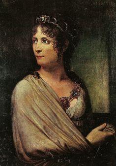 Josephine de Beauharnais by Andrea Appiani. She was the caribbean wife of Napoleon.