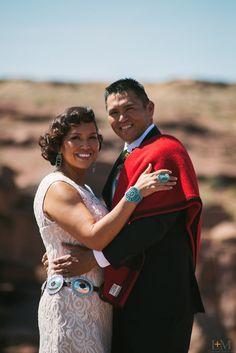 Arizona, Wedding, Navajo, Indian, Native American, Reservation, Desert, Bride, Dress,