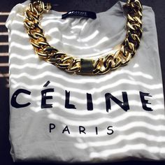 Celine on Celine  Need that celine chain necklace