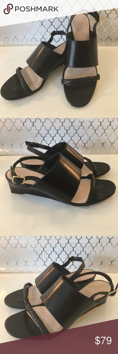 ⭐️COLE HAAN WOMENS WEDGES 💯AUTHENTIC COLE HAAN WOMENS WEDGES 100% AUTHENTIC. STUNNING AND STYLISH TOTALLY ON TREND! SO PRETTY! THE ARE A SIZE 7 B Cole Haan Shoes Wedges