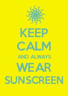 Last warning to save your selves!Slop some sunscreen on.