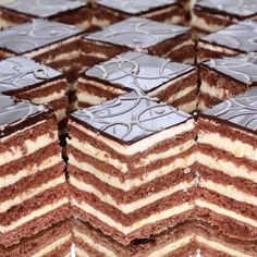 Hungarian Desserts, Hungarian Cake, Hungarian Recipes, Hungarian Food, Pastry Recipes, Cookie Recipes, Dessert Recipes, Chocolate Truffles, Chocolate Recipes
