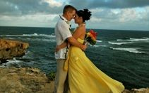 Get married on a cliff high above the ocean ... Give us a call at 877-711-3003 or visit www.AlohaEverAfter.com. #kauaiweddings