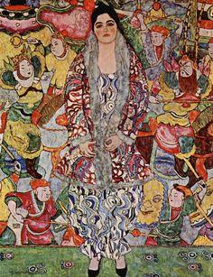 Portrait of Friederike Maria Beer by Gustav Klimt