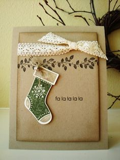 Jolly Jingle Christmas Card Workshop 007     by Penny Thomas