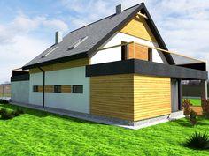 Wizualizacja elewacji domku v2