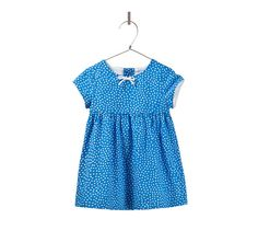 polka dot dress with little bow