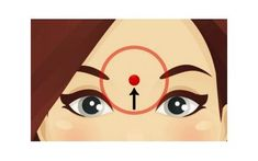 I love massage of all kind, because is very relaxing and very healthy. Find out What Happens If You Massage This Point On Your Forehead! Love Massage, Self Massage, Health Tips, Health And Wellness, Health Fitness, Acupuncture, Mudras, Pressure Points, Chinese Medicine