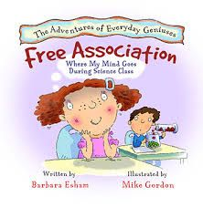 Free Association, Where My Mind Goes During Science Class (Adventures of Everyday Geniuses): Barbara Esham, Mike Gordon, Carl Gordon: Best Children Books, Childrens Books, Growth Mindset Book, Mike Gordon, Free Association, Make A Presentation, Kids Book Series, Drawing Activities, Adhd Kids