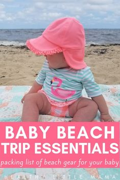 11 Beach Essentials for Baby this summer Getting ready to take a beach vacation trip this summer with your baby? Make sure to pack the essentials for your infant to toddler and whole family. You'll need a beach pool or water Beach Vacation Packing, Beach Vacation Outfits, Beach Trip, Beach Pool, Vacation Spots, Vacation Countdown, Vacation Style, Florida Vacation, Beach Travel