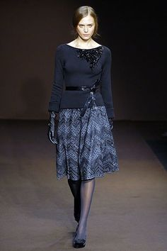 Andrew Gn Fall 2006 Ready-to-Wear Fashion Show - Yana Karpova