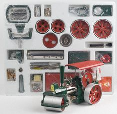 Wilesco M 61 Forge Shop Enthusiastic Au-special New Accessories For Steam Engines