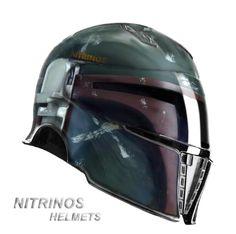 Spartan Helmet collab with Bobba Fett Star Wars
