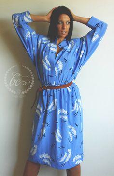 Blue Zappa Dress by BUMCAKE on Etsy, $60.00