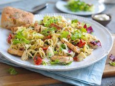 Annonsørinnhold: Her er MENY-kokkens forslag til ukens meny: Uke 14 New Menu, Aioli, Potato Salad, Tapas, Cabbage, Spaghetti, Food And Drink, Snacks, Vegetables